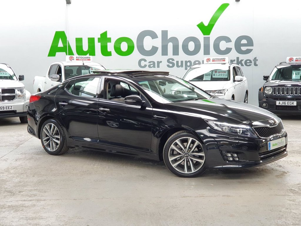 USED 2015 64 KIA OPTIMA 1.7 CRDI 3 4d 134 BHP KIA HIST HUGE SPEC 64mpg!