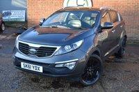 2011 KIA SPORTAGE 2.0 CRDI KX-3 5d 134 BHP £6990.00