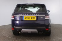 USED 2013 63 LAND ROVER RANGE ROVER SPORT 3.0 SDV6 HSE 5DR AUTO 288 BHP + SAT NAV + LEATHER  FULL LAND ROVER SERVICE HISTORY + FRONT/REAR HEATED LEATHER SEATS + 7 SEATS + SATELLITE NAVIGATION + REVERSE CAMERA + PARKING SENSOR + BLUETOOTH + CRUISE CONTROL + CLIMATE CONTROL + MULTI FUNCTION WHEEL + XENON HEADLIGHTS + ELECTRIC WINDOWS + ELECTRIC MIRRORS + 20 INCH ALLOY WHEELS