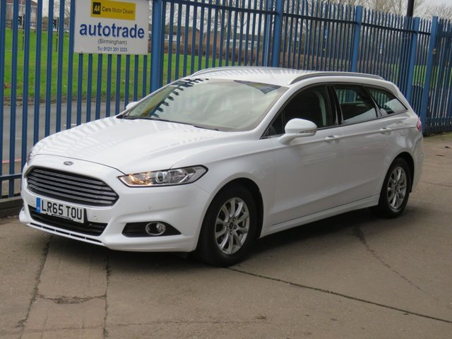 USED 2015 65 FORD MONDEO 2.0 ZETEC ECONETIC TDCI Estate Sat nav DAB Cruise Alloys Roof rails Low Miles Diesel with Satnav and service history