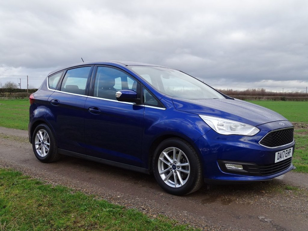 USED 2017 17 FORD C-MAX 1.6 ZETEC 5d 124 BHP NAVIGATION