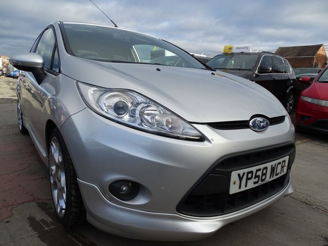 USED 2009 58 FORD FIESTA 1.6 ZETEC S TDCI 3d GOOD CLEAN CAR