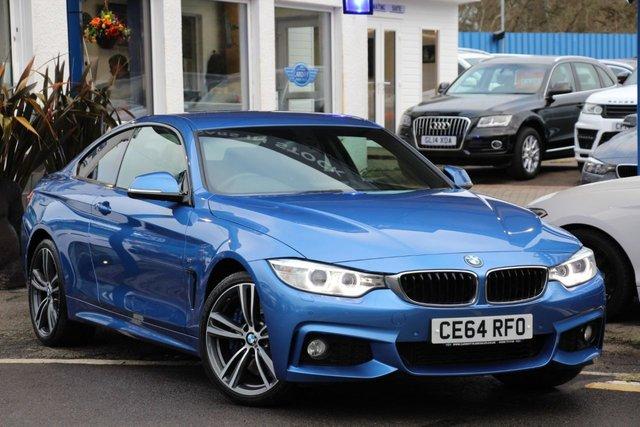 2014 64 BMW 4 SERIES 3.0 430D XDRIVE M SPORT 2d 255 BHP