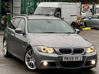 USED 2009 59 BMW 3 SERIES 3.0 330d M Sport Touring 5dr Xenons/Bluetooth/LED/MSport