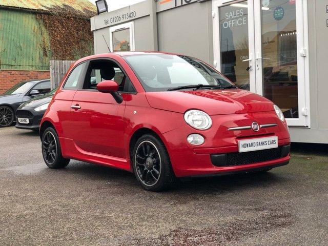 2012 12 FIAT 500 0.9 TWINAIR 3d 85 BHP