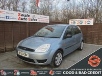 USED 2005 55 FORD FIESTA 1.2 STYLE 5d 74 BHP GOOD AND BAD CREDIT SPECIALISTS! APPLY TODAY!