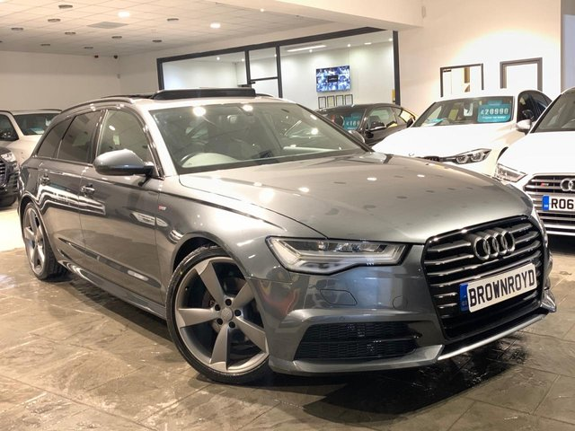 USED 2015 65 AUDI A6 AVANT 2.0 AVANT TDI ULTRA BLACK EDITION 5d 188 BHP PAN ROOF+BOSE+NAV+6.9% APR