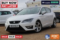 USED 2014 14 SEAT LEON 1.4 TSI FR TECHNOLOGY 5d 140 BHP