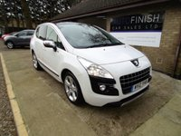 USED 2012 12 PEUGEOT 3008 1.6 SPORTIUM HDI FAP 5d 112 BHP * FULL SERVICE HISTORY * 2 KEYS * HEATED SEATS * SAT-NAV * £0 DEPOSIT FINANCE AVAILABLE *