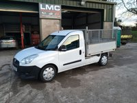 2014 FIAT DOBLO 1.6 16V MULTIJET WORK UP 105 BHP tipper £6250.00
