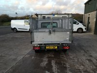 USED 2014 64 FIAT DOBLO 1.6 16V MULTIJET WORK UP 105 BHP tipper