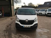 USED 2016 65 RENAULT TRAFIC 1.6 LL29 BUSINESS ENERGY DCI Crew van 120 BHP