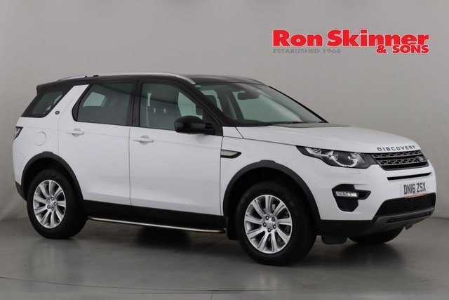 View our 2016 16 LAND ROVER DISCOVERY SPORT 2.0 TD4 SE TECH 5d 180 BHP