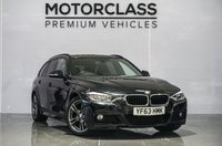USED 2013 63 BMW 3 SERIES 2.0 320D M SPORT TOURING 5d 181 BHP