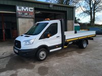 USED 2016 66 FORD TRANSIT 2.2 350 dropside124 BHP