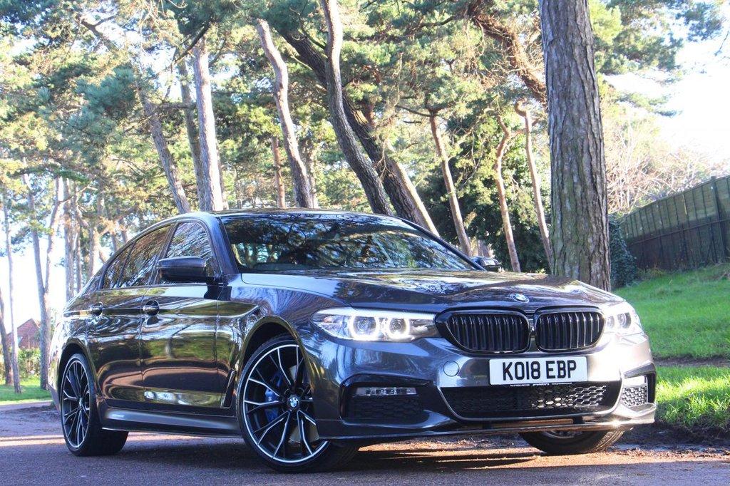 USED 2018 18 BMW 5 SERIES 540i XDRIVE M SPORT 335 BHP