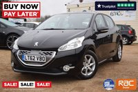 USED 2012 62 PEUGEOT 208 1.4 ACTIVE E-HDI  5d 68 BHP