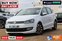 USED 2016 16 VOLKSWAGEN POLO 1.0 BLUEMOTION TSI 5d 93 BHP