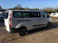 USED 2016 16 FORD TOURNEO CUSTOM 2.2 300 TDCI 9 seater 100 BHP