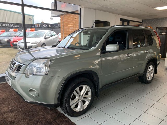 USED 2013 13 NISSAN X-TRAIL 2.0 ACENTA DCI  5d 171 BHP