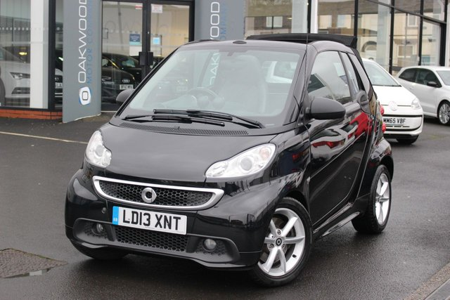 USED 2013 13 SMART FORTWO CABRIO 1.0 MHD Pulse Cabriolet Softouch 2dr