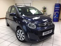 USED 2015 15 CITROEN C1 1.0 FEEL 5d 68 BHP 2 OWNERS / 20,400 MILES / ISOFIX / BLUETOOTH / PHONE CONNECTIVITY / SERVICE HISTORY / NEW MOT