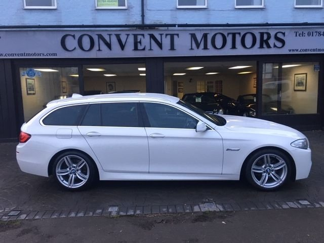USED 2013 13 BMW 5 SERIES 2.0 520D M SPORT TOURING 5d 181 BHP