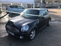 2009 MINI HATCH ONE 1.4 ONE 3d 94 BHP £4599.00