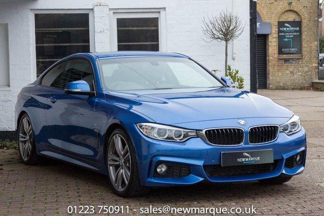 2014 14 BMW 4 SERIES 3.0 430D M SPORT 2d 255 BHP