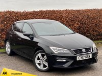 USED 2017 17 SEAT LEON 1.4 TSI FR TECHNOLOGY 5d 148 BHP MANUFACTURERS WARRANTY AUGUST 2020