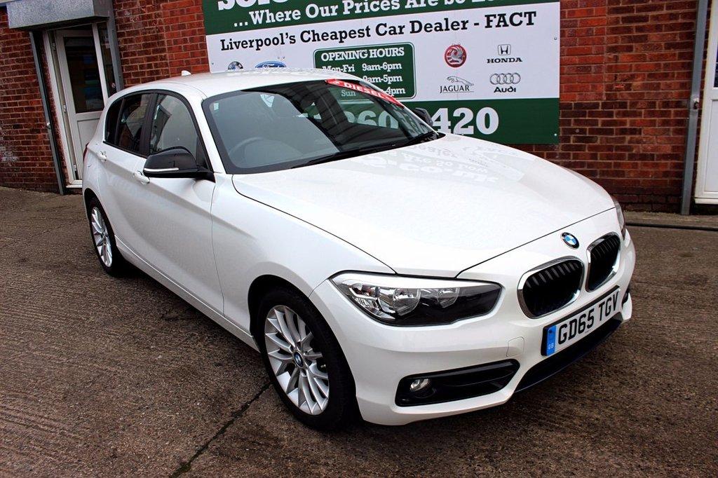 USED 2015 65 BMW 1 SERIES 1.5 116D SPORT 5d 114 BHP +ONE OWNER +FSH +SAT NAV.
