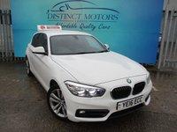 USED 2016 16 BMW 1 SERIES 2.0 118D SPORT 5d 147 BHP