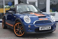 USED 2007 07 MINI CONVERTIBLE 1.6 COOPER S 2d 168 BHP NO DEPOSIT FINANCE AVAILABLE