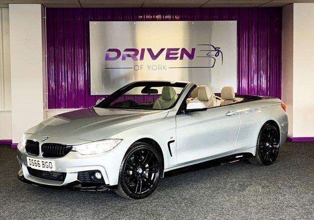 2016 66 BMW 4 SERIES 3.0 435D XDRIVE M SPORT 2d 309 BHP