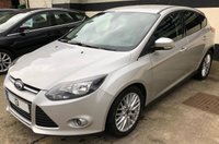 USED 2013 13 FORD FOCUS ZETEC 1.6 TDCi 5DR 115 BHP, JUST SERVICED W/CAMBELT, FULL MOT £20 ROAD TAX, EXCELLENT FUEL ECONOMY & LOW INSURANCE