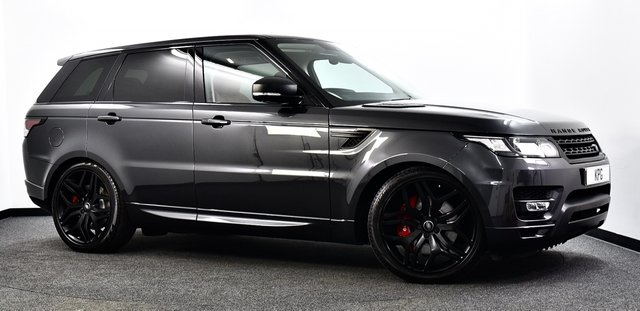 USED 2016 66 LAND ROVER RANGE ROVER SPORT 3.0 SD V6 HSE Dynamic CommandShift 2 4X4 (s/s) 5dr 17MY, Pan Roof, Stealth Pack +