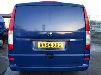 USED 2004 54 MERCEDES-BENZ VITO 111 CDI LWB 6 SEAT FACTORY KOMBI CREW VAN BLUE **NO VAT**