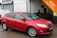 USED 2012 62 FORD FOCUS 1.6 TITANIUM X 5d 180 BHP VIEW AND RESERVE ONLINE OR CALL 01527-853940 FOR MORE INFO.