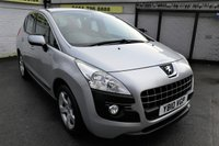 USED 2010 10 PEUGEOT 3008 1.6 SPORT HDI 5d 110 BHP * 2 YEAR WARRANTY INCLUDED ! *