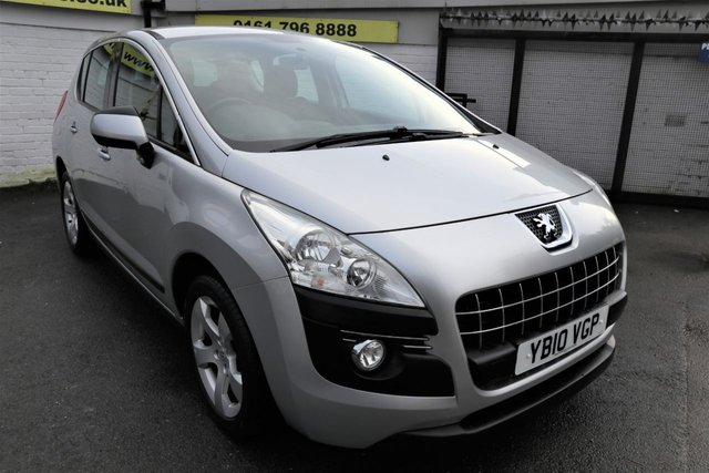 USED 2010 10 PEUGEOT 3008 1.6 SPORT HDI 5d 110 BHP * GREAT FAMILY SUV *