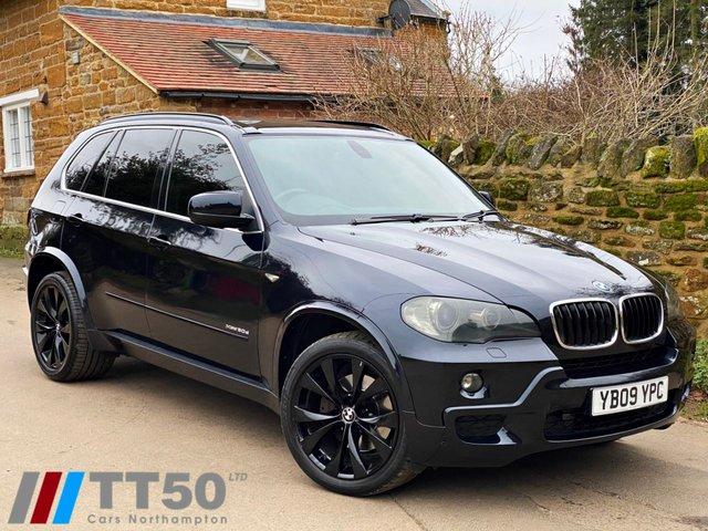 2009 09 BMW X5 3.0 XDRIVE30D M SPORT 5d 232 BHP