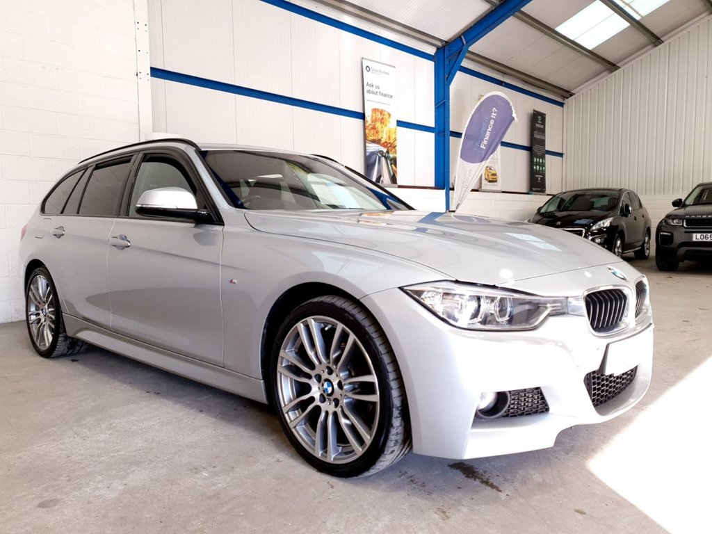 USED 2015 15 BMW 3 SERIES 2.0 320D XDRIVE M SPORT TOURING 5d AUTO 181 BHP