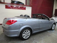 USED 2008 58 VAUXHALL ASTRA 1.8 i Sport Twin Top 2dr ***75000 MILES*F/S/H***