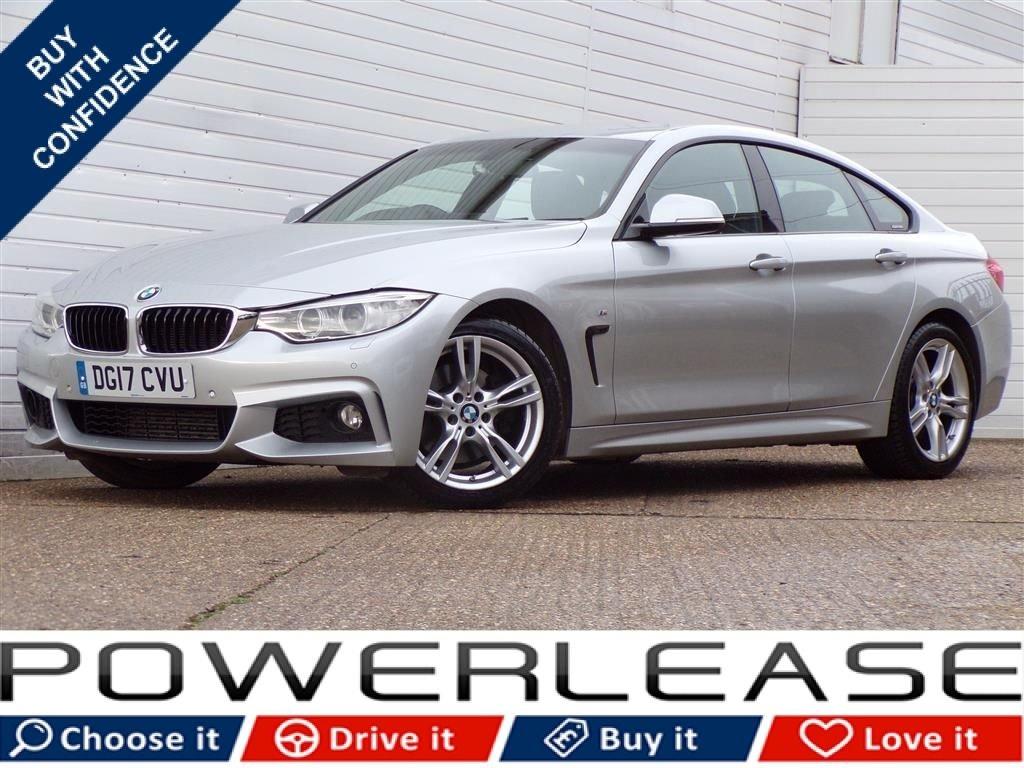 USED 2017 17 BMW 4 SERIES 3.0 430D M SPORT GRAN COUPE 4d 255 BHP PRO NAV MEMORY SEATS FBMWSH