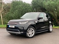 USED 2017 17 LAND ROVER DISCOVERY 2.0 SD4 HSE 5d 237 BHP NEW SHAPE DISCOVERY HSE IN SANTORINI BLACK EBONY WINDSOR LEATHER FSH LANDROVER WARRANTY