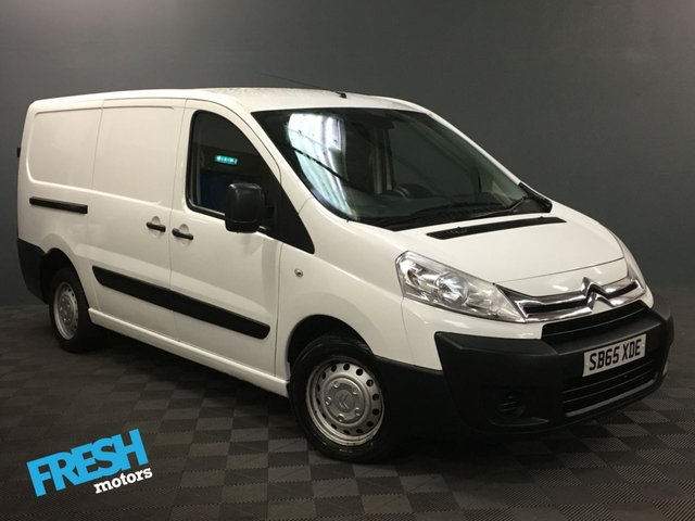 USED 2015 65 CITROEN DISPATCH 2.0 1200 L2H1 ENTERPRISE HDI