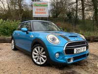 USED 2017 MINI HATCH COOPER 2.0 COOPER S 3dr Chili Pack & Heated Seats