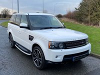 "USED 2013 62 LAND ROVER RANGE ROVER SPORT 3.0 SDV6 SE 5d 255 BHP SAT NAV, LEATHER, 20"" ALLOYS"