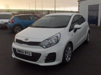 USED 2016 66 KIA RIO 1.2 1 AIR 5d 83 BHP BALANCE OF MANUFACTURERS SEVEN YEAR WARRANTY