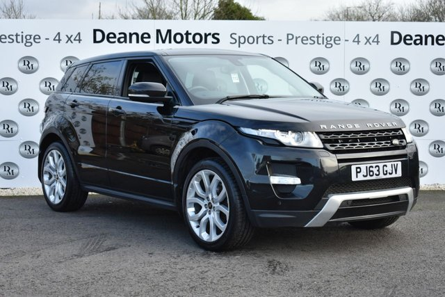 2013 63 LAND ROVER RANGE ROVER EVOQUE 2.2 SD4 DYNAMIC 5d 190 BHP FULL SERVICE HISTORY